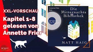 ANNETTE FRIER liest DIE MITTERNACHTSBIBLIOTHEK von Matt Haig