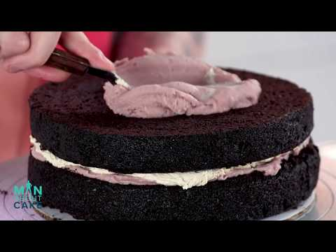 AMAZING 40th Birthday Cake! | Man About Cake with Joshua John Russell