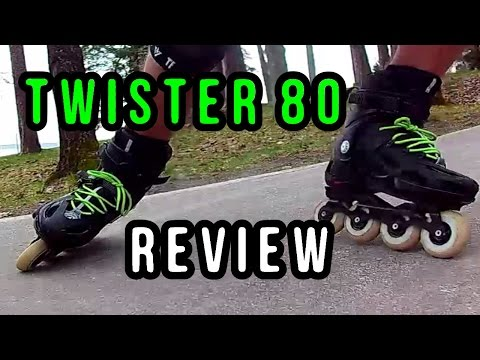 TWISTER 80 ROLLERBLADES – REVIEW