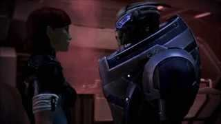 "Shepard/Garrus (Shakarian): ""Don't Look Down"""