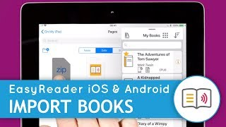 Read Accessible Books Anywhere, with EasyReader