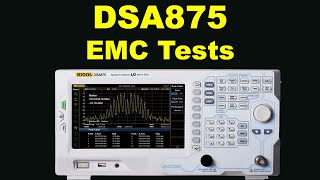 RIGOL DSA815   now DSA875 7 5GHz Spectrum Analyser discovers mystery