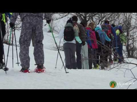 Preview video Ciaspolare con Majambiente