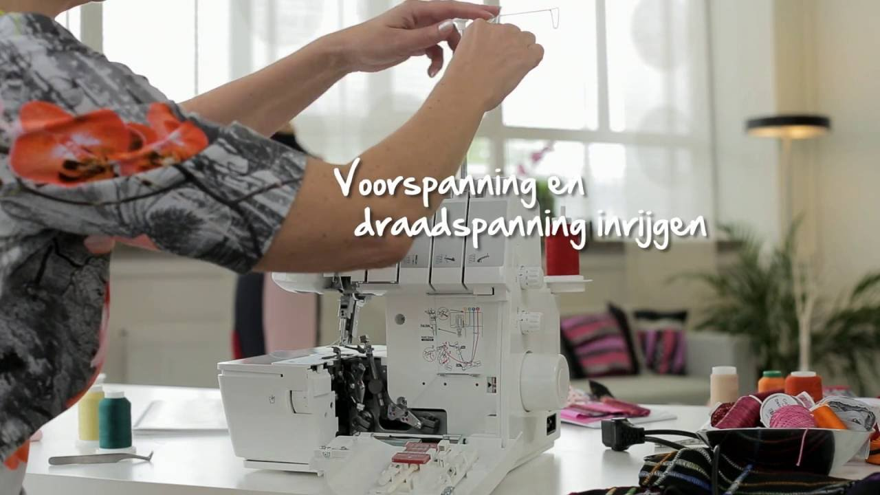 BERNINA L 460: instructievideo 6/8