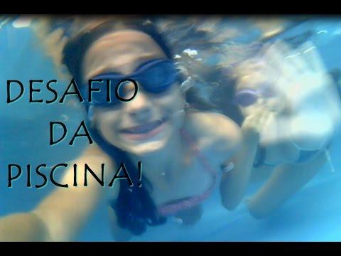 Desafio Da Piscina com minha amiga Isadora :)