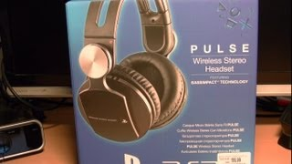 PS3 Pulse Wireless Stereo Headset Review - Teil 1 - Unboxing & erster Eindruck [Deutsch/German] [HD]