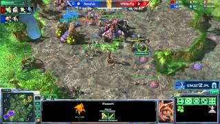 ZvP Nerchio Vs White-Ra Starcraft 2 HD Polski Komentarz