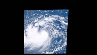 台風15号コーニー発生の瞬間