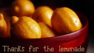 Lemonade - Chris Rice ♪ lyrics