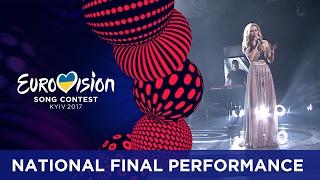 Kasia Moś - Flashlight (Poland) Eurovision 2017 - National Final Performance