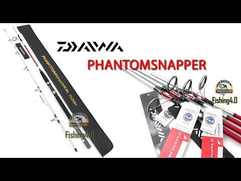 Cần Câu Daiwa PhantomSnapper  2m1 2m4 2m7 3m - Cần Câu chất lượng kiểu dáng thể thao.