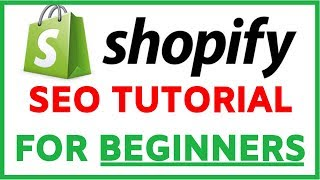 Shopify SEO Optimization Tutorial For Beginners | Step By Step FREE TRAFFIC