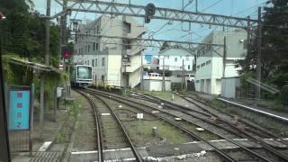展望車窓2江ノ島電鉄2000形江ノ島→稲村ヶ崎