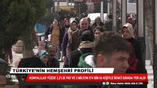 Türkiye'de en çok Şanlıurfalı, Konyalı ve İstanbullu var
