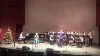 """Александра Давыдова 9 лет и оркестр «Александр бэнд» «The Girl From Ipanema""""."""