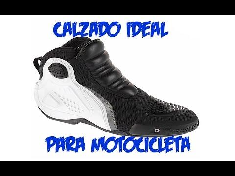 Calzado ideal para Motocicleta