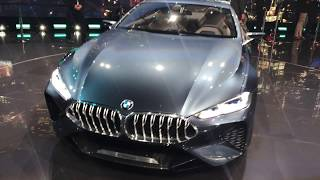 BMW Concept 8 Series at Frankfurt Auto Show | Kholo.pk