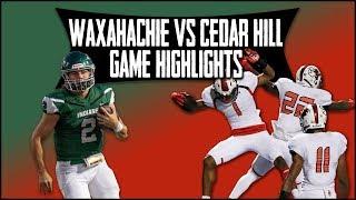 Waxahachie vs. Cedar Hill - 2019 Week 5 Football Highlights