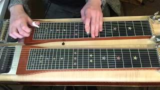 Dire Straits - Fade to Black (pedal steel solo)