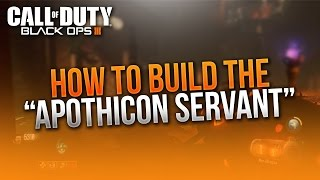 """""""Apothican Servant""""  ~ How to Build """"Shadows of Evil"""" Wonder Weapon! ~ BO3 Zombies!"""