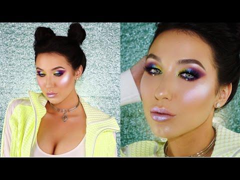 Slay The Rainbow Makeup Tutorial   Jaclyn Hill