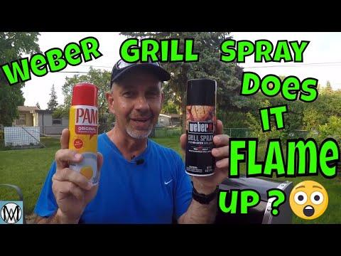 Weber Grill Spray vs Pam