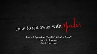 Evil Voices - The Faint | How to Get Away with Murder - 1x06 Music