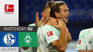 Nice Hat-trick! | FC Schalke 04 - SV Werder Bremen | 1-3 | All Goals | Matchday 2 – Bundesliga 20/21