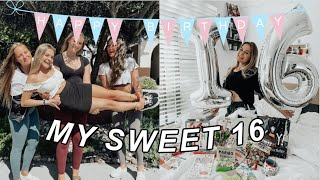 MY SWEET 16 | Birthday Vlog In Quarantine :)