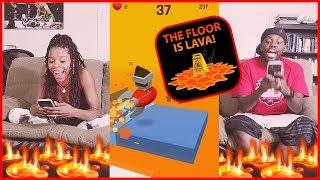 THE FLOOR IS LAVA CHALLENGE!! - The Floor Is Lava! | Mobile Series Ep.27