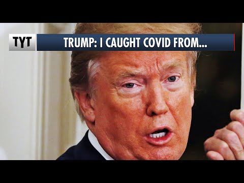 Trump: I Caught Covid From Veterans' Families