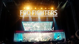 FOO FIGHTERS [NEW SONG]-Sky Is a Neighborhood  ft. VV (The Kills) 2017 Helsinki