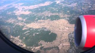preview picture of video 'AirAsia flight Air Asia take off to landing'