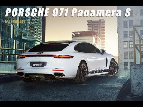 The iPE exhaust for Porsche 971 Panamera S