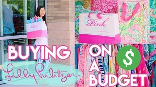 How To Buy Lilly Pulitzer On A Budget!