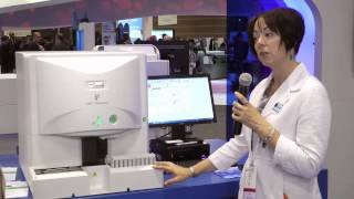 UF-1000i display in Sysmex booth at AACC 2014