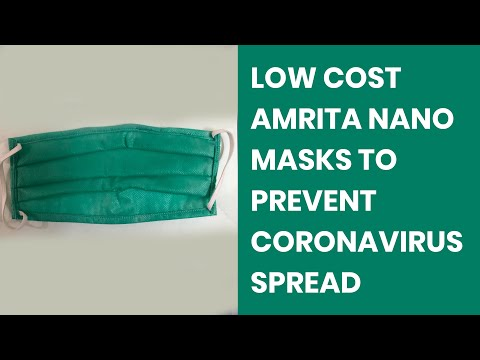 Low cost Amrita Nano Mask