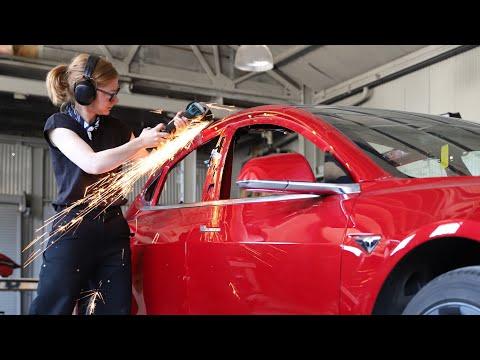 Simone Giertz convierte su Tesla en una PickUp