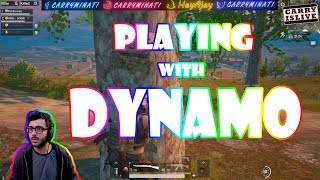 PLAYING WITH DYNAMO | CARRYMINATI | PUBG MOBILE HIGHLIGHTS