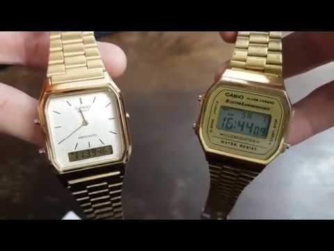 Unboxing und Review der Casio Herren-Armbanduhr Retro Dual Digital von Philiboy