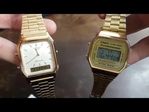 Unboxing und Review der Casio Herren-Armbanduhr Retro Dual Digital von Philiboy