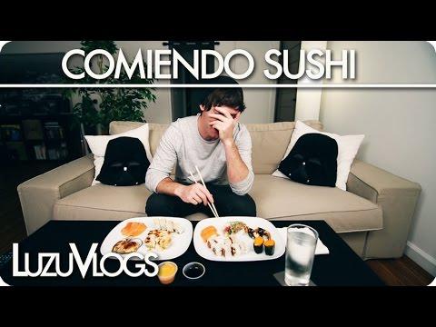 COMIENDO SUSHI – LuzuVlogs