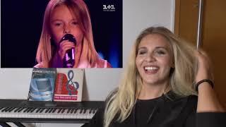 Vocal Coach |   DANIELA Tulyeshova   | The Voice Kids |  REACTION