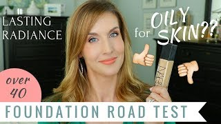 NARS radiant longwear foundation first impression   Dry Skin