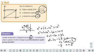 Eğitim Vadisi TYT Geometri 15.Föy Doğrunun Analitik İncelenmesi Konu Anlatım Videoları