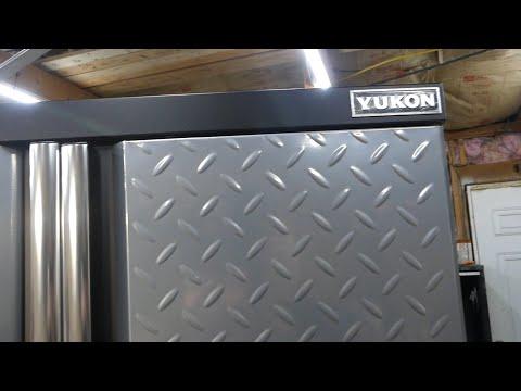 """Harbor Freight -VS- Home Depot ( Yukon - VS - Husky ) 46"""" 9-Drawer Workstations"""