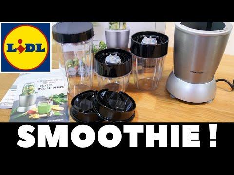 Test : Blender à smoothie Silvercrest Lidl - Nutrition Mixer Silvercrest