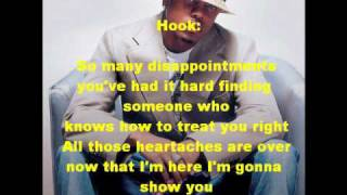 Donell Jones - The Finer Things In Life (w/lyrics on screen)