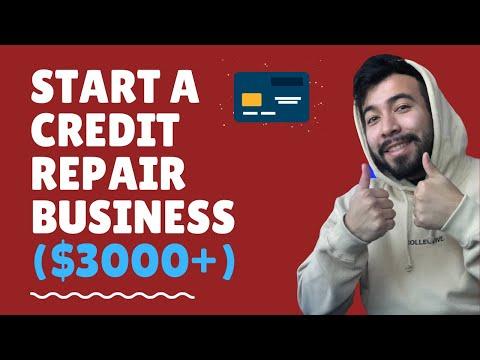 Start A Credit Repair Business (Make 3000+ Per Month)