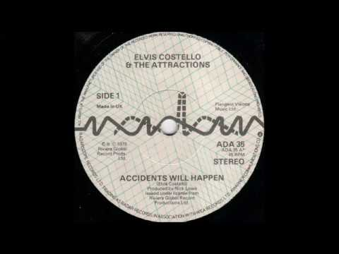 Elvis Costello- Accidents Will Happen B/W Talking In The Dark, Wednesday Week